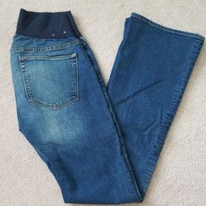 Gap maternity bootcut jeans